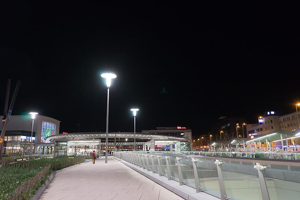 グラーツ中央駅。