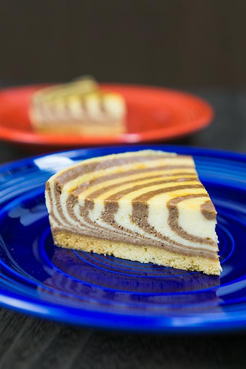 ゼブラチーズケーキ