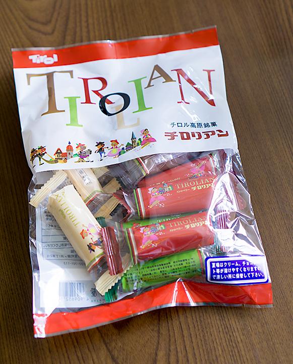 チロル高原銘菓チロリアン