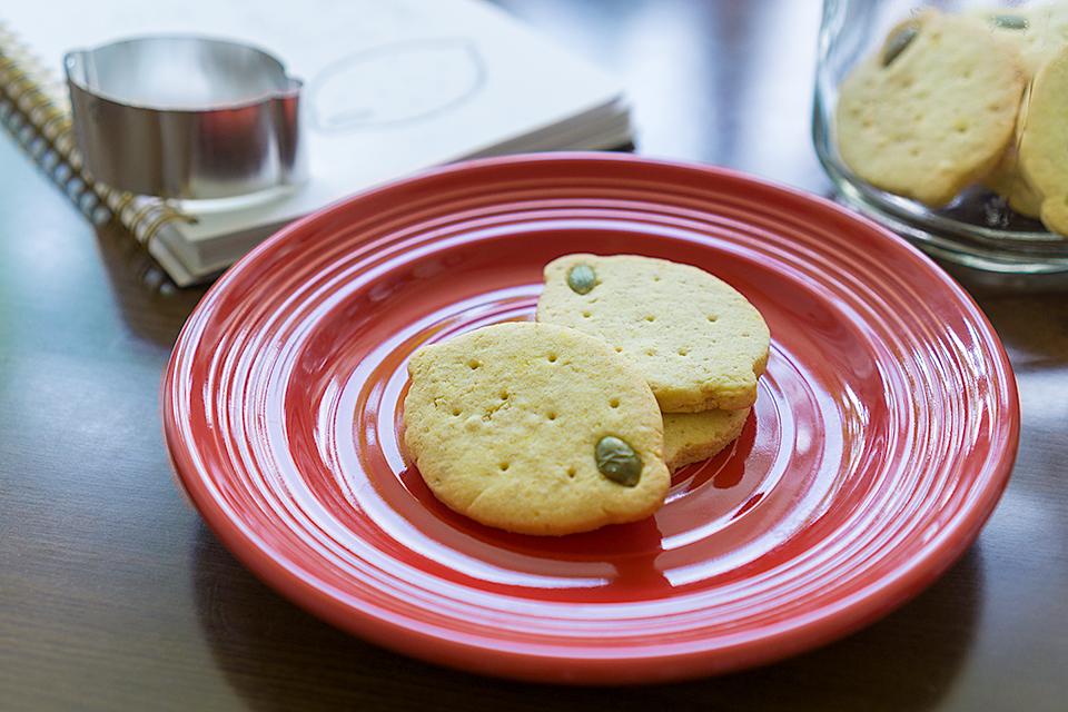 オリジナルクッキー型で作ったレモンクッキー