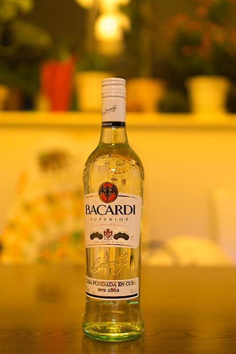 バカルディをいつどこで買ったのかを覚えていない。