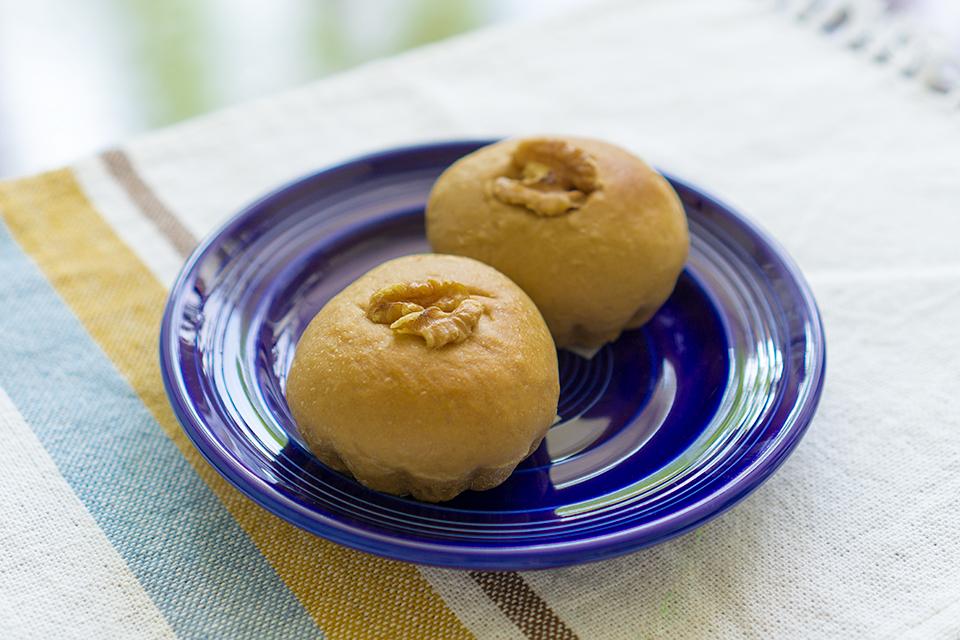 天然酵母のカフェクリームチーズパン