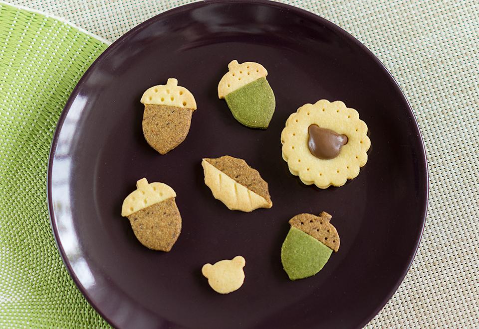 秋色クッキー!