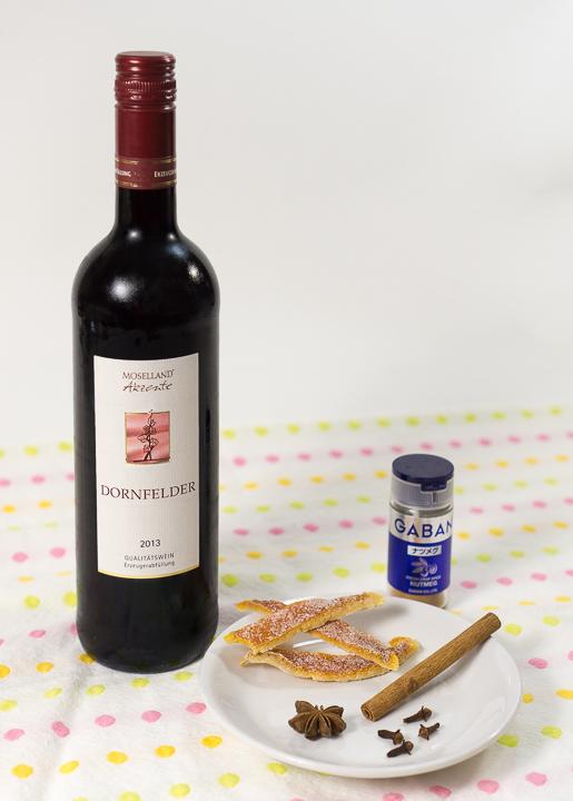 ホットワイン(グリューワイン)の材料