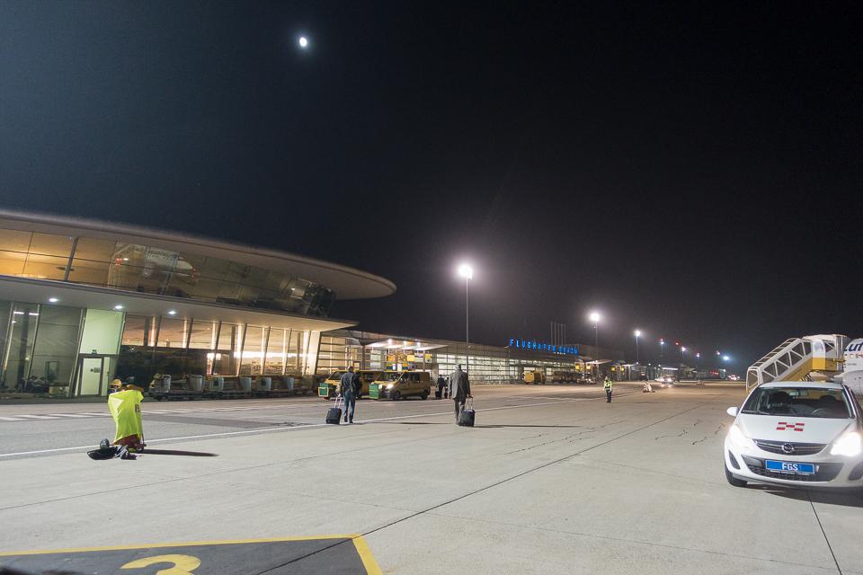 グラーツ空港の滑走路