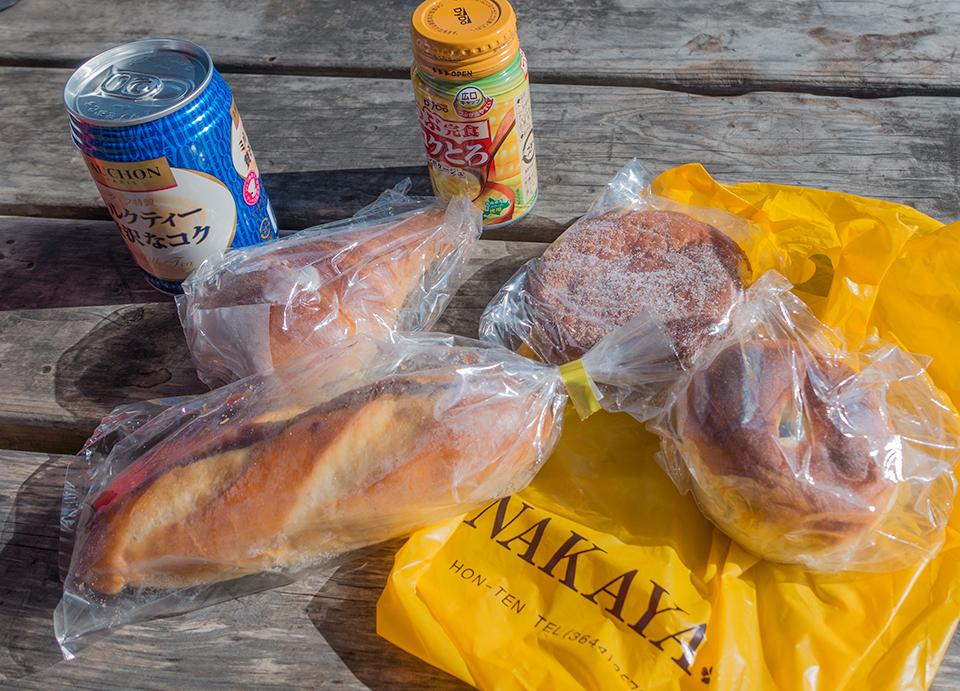 ナカヤのパン。