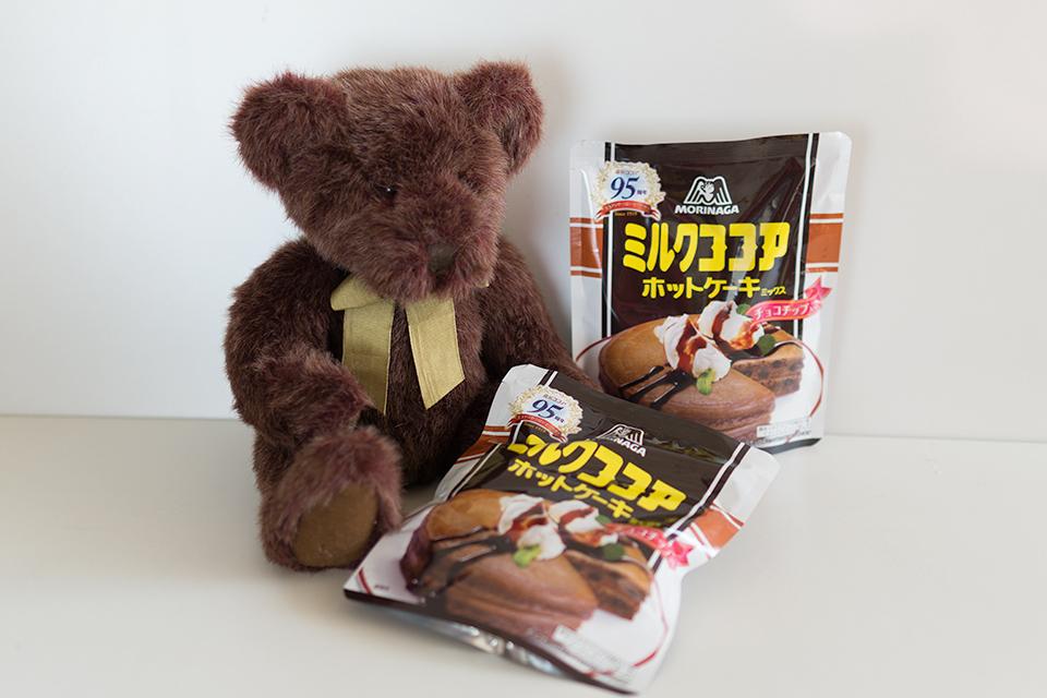 森永ミルクココアホットケーキミックス チョコチップ入り