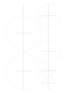 サンセバスチャンケーキ15センチ用カット型紙