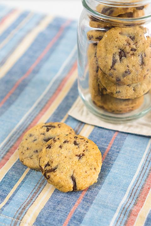 レイヤードチョコレートチップクッキー