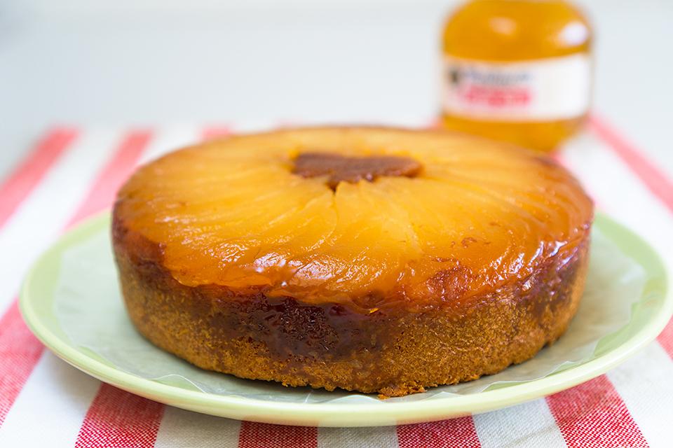 紅玉のアップサイドダウンケーキ