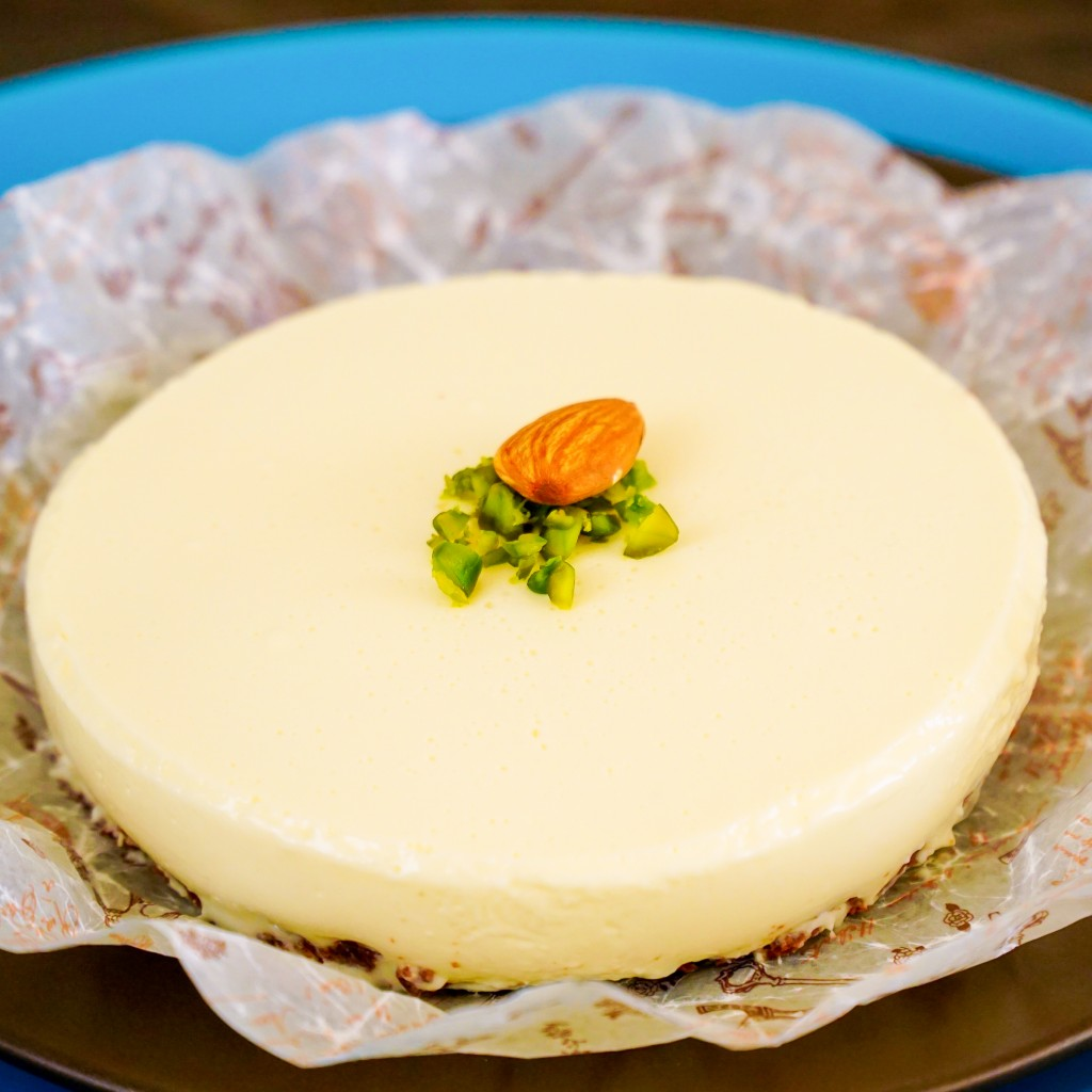 自家製サワークリームのココアタルトレアチーズケーキ