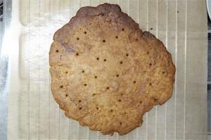 こんがり焼けたクッキー。いびつでもいいんです